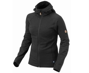 Fjällräven Abisko Trail Fleece - Sort - Dame