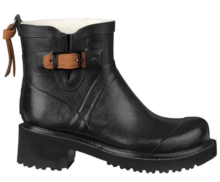 15a9907f13db Ilse Jacobsen gummistøvler med høj hæl - køb online her