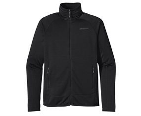 Patagonia Mens R1 Full-zip Jakke Black