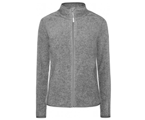 Weather Report Ulla Fleece Jakke Gray