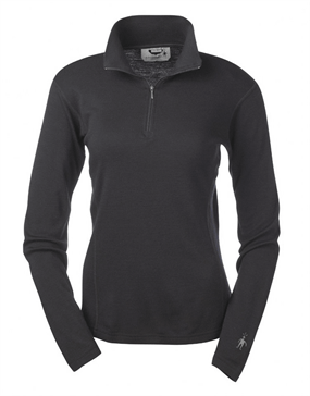 Smartwool Midweight Zip-t Baselayer TOP Dame 250g/m²