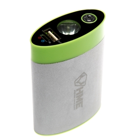 HME Power Bank - Hand Warmer - LED Light