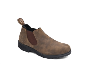 Blundstone BL Slip On Shoe Lædersko - Rustic Brown