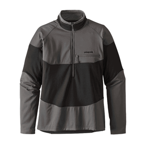 Patagonia R1 Field Zip Trøje - Sort