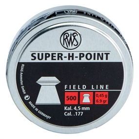 RWS Super H Point Field Line Lufthagl - 4,5 mm