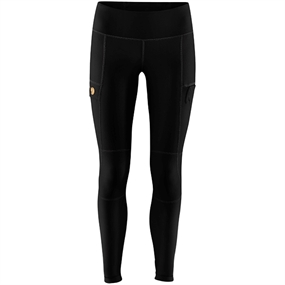 Fjällräven Abisko Trail Tights W - Black