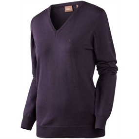 Härkila Alley Lady Pullover - Blackberry
