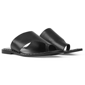 Ilse Jacobsen Alma Slippers - Sort