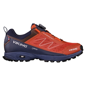 Viking Anaconda Light Boa GTX W Sko - Terracotta-Navy