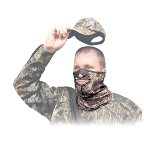 Primos Stretch-fit 1/2 Ansigtsmaske - Mossy Oak - One size