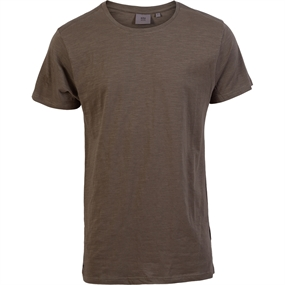 Kopenhaken August Slub Yarn T-shirt - Army grøn