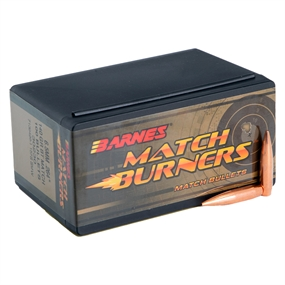 Barnes Match Burners Projektiler - Kal. 6,5MM .264