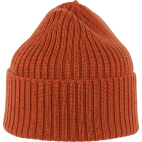 MJM Wool Beanie - Rust - One Size