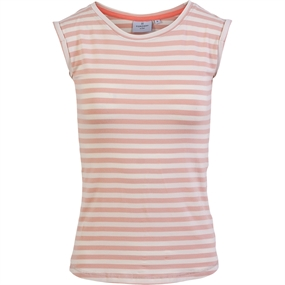 Kopenhaken Beechmont W T-Shirt - Pale Blush Striber