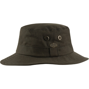 MJM Ben Wax Cotton Hat - Brown