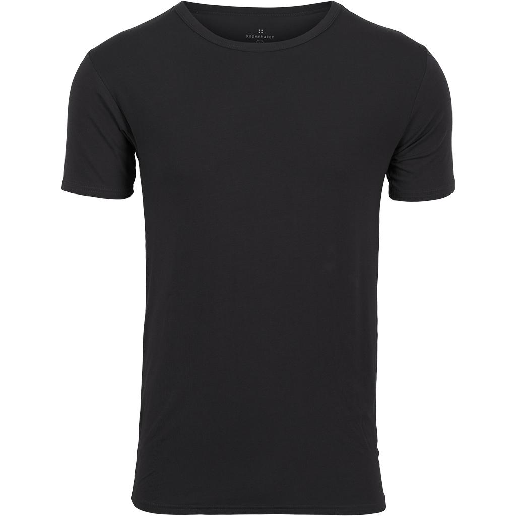 Kopenhaken Bertram Bamboo T Shirt Sort
