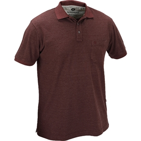Nordhunt Beta Polo T-Shirt - Wine Melange