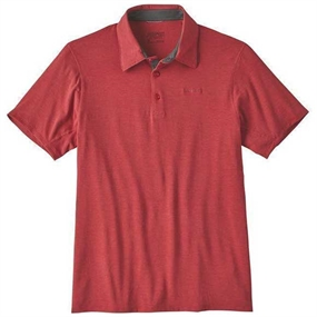 Patagonia Cactusflats Polo - Static Red