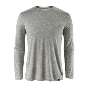 Patagonia Cap Daily T-shirt LS - Feather Grey