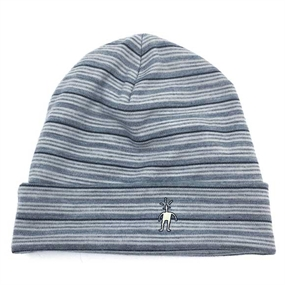 Smartwool Merino 250 Cuffed Beanie - Silver/Charcoal