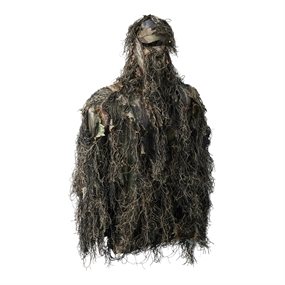 Deerhunter Sneaky Ghillie Pull-over Set w. Gloves - Innovation GH