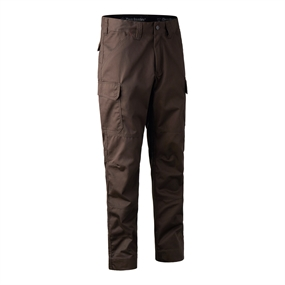 Deerhunter Rogaland Expedition Trousers - Brown leaf