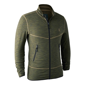 Deerhunter Norden Insulated Fleece - Green melange
