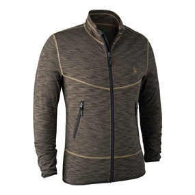 Deerhunter Norden Insulated Fleece - Brown Mel.