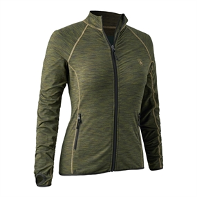 Deerhunter Lady Insulated Fleece - Green melange