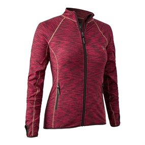 Deerhunter Lady Insulated Fleece - Red Mel.