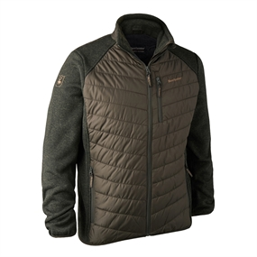 Deerhunter Moor Padded Jacket w. Knit - Timber