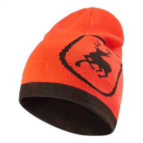 Deerhunter Cumberland Knitted Beanie Reversible - Orange - ONE SIZE
