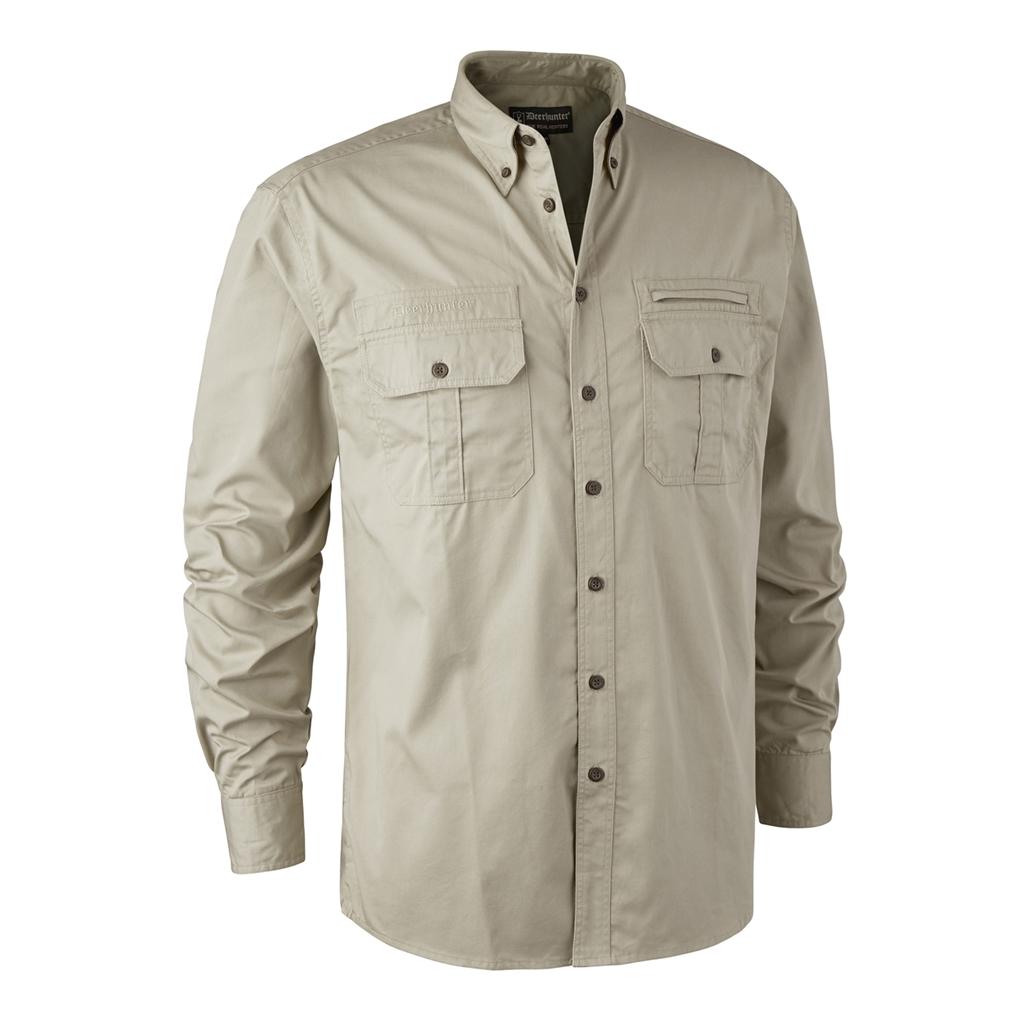 Deerhunter Caribou Hunting Shirt LS Chinchilla 4142