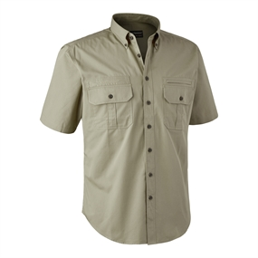 Deerhunter Caribou Hunting Shirt S/S - Chinchilla