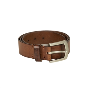 Deerhunter Leather Belt, width 4 cm - Cognac Brown