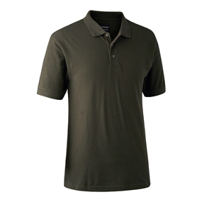 Deerhunter Redding Polo Shirt - Bark green