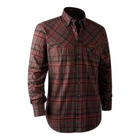 Deerhunter Rhett Shirt - Red Check