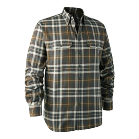 Deerhunter Marlon Shirt L/S - Green checkered
