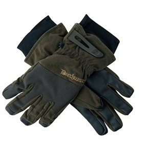 Deerhunter Cumberland Gloves - Dark elm