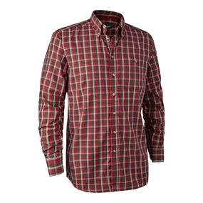 Deerhunter Chris Shirt - Red checkered