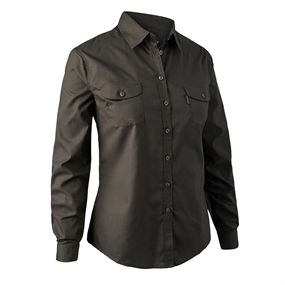 Deerhunter Lady Cari Shirt - Dark elm