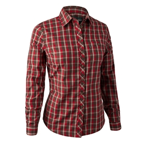 Deerhunter Lady Chloe Shirt - Red Check