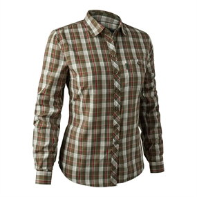 Deerhunter Lady Claire Shirt - Green check