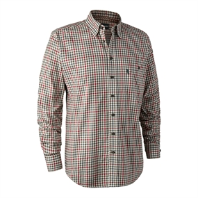 Deerhunter Zachary Shirt - Red Check