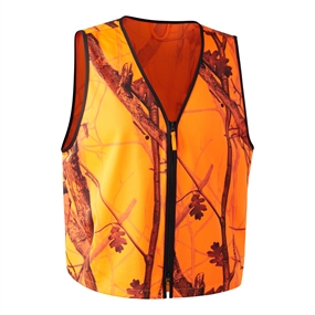 Deerhunter Protector Pull-over Vest - Orange GH Camo