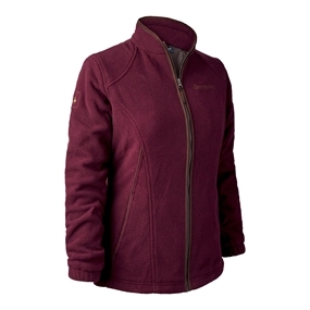 Deerhunter Lady Josephine Fleece med membran - Burgundy