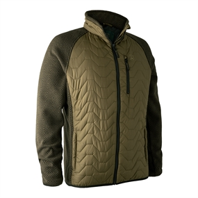 Deerhunter Pochard Padded jakke med strik - Olive night