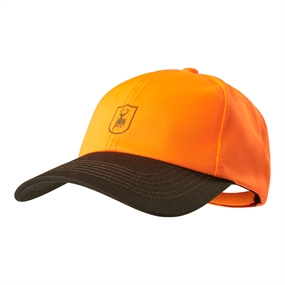 Deerhunter Bavaria Kasket med skjold - Orange - one size