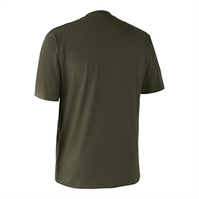 Deerhunter T-shirt med hjort - Bark green