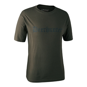 Deerhunter Logo T-Shirt K/Æ - Bark green
